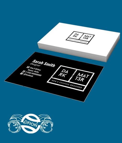 Business Cards - Ofion Print - Non Standard